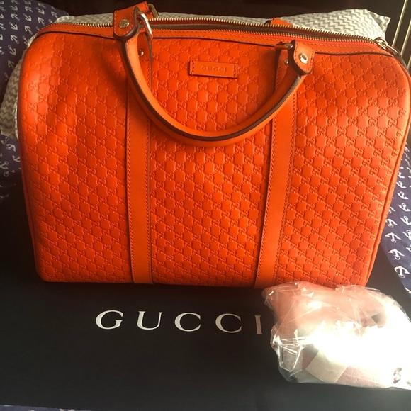 Gucci Handbags - NEW Gucci Microguccissima Joy Boston Bag